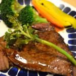 生活クラブの牛肉で♪バルサミコ酢を使った絶品ステーキレシピと焼き方のコツ