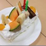 ロールケーキ巻き体験&うれしいサプライズ♪*丸きんまんじゅう生産者交流会④*